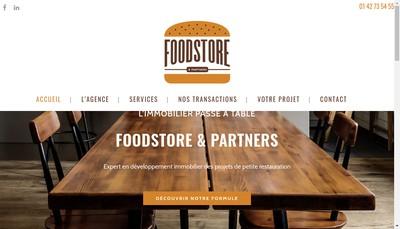 Site internet de Foodstore & Partners