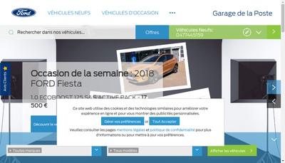 Site internet de Garage de la Poste