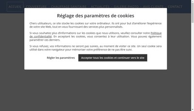Site internet de Etablissements Forest Serre