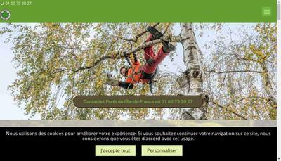 Site internet de Foret de l'Ile de France