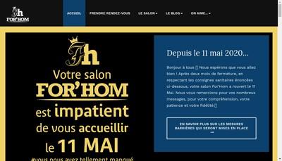 Site internet de For'Hom EURL