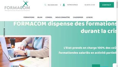 Site internet de Formacom