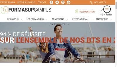 Site internet de Formasup