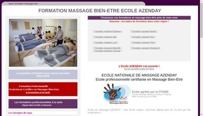 Site internet de Azenday