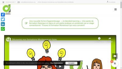 Site internet de Airam Montessori