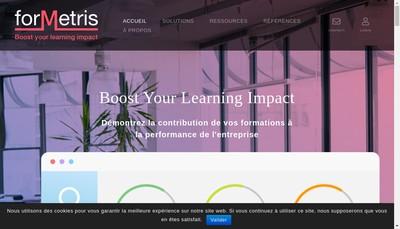 Site internet de Formetris