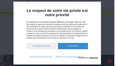 Site internet de Forum