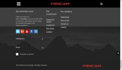 Site internet de Casabill