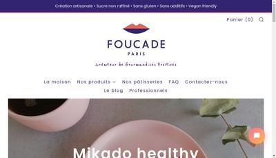 Site internet de Foucade Paris