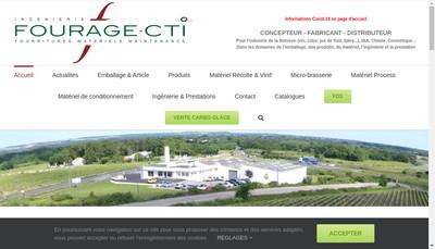 Site internet de Fourage - Cti