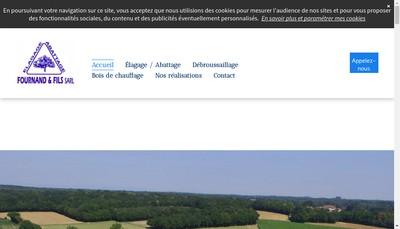Site internet de SARL Fournand et Fils