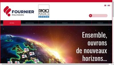 Site internet de Fournier SA