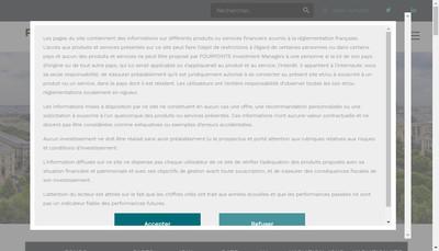 Site internet de Itasset