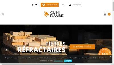 Site internet de Omniflamme-Tradipierre