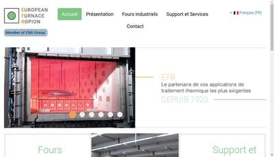 Site internet de EFR