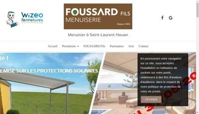 Site internet de Foussard Fils