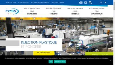Site internet de Fonderie et Plasturgie SA