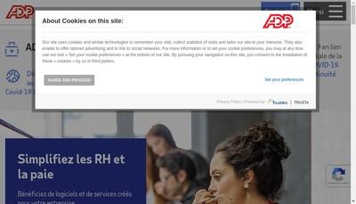 Site internet de Adp Europe