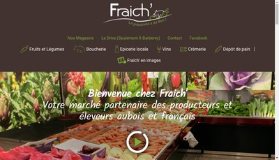 Site internet de Fraich'Immo