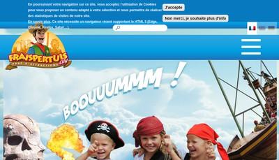 Site internet de Fraispertuis City SARL