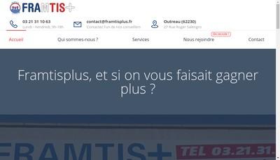 Site internet de Framtis +