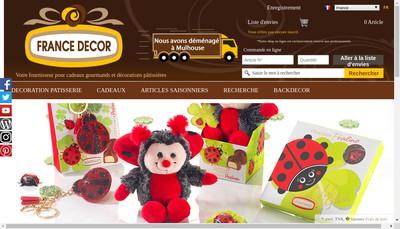 Site internet de France Decor