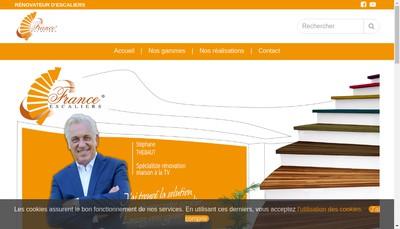 Site internet de Le Couturier des Escaliers - Amazy