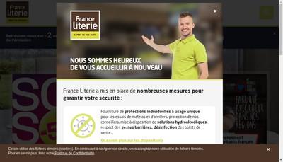 Site internet de Morphee Literie