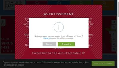 Site internet de France Passion