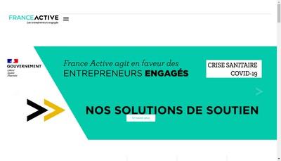 Site internet de Bourgogne Active