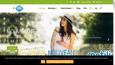 Site internet de Laboratoires France Bebe Nutrition