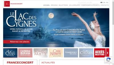 Site internet de Capitale Production