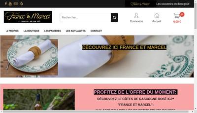 Site internet de France et Marcel