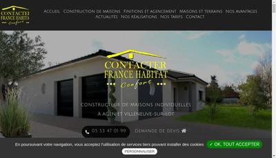 Site internet de Agence Conseil Construction Service
