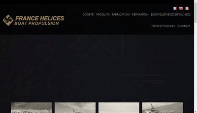 Site internet de France Helices
