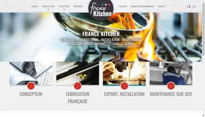 Site internet de France Kitchen