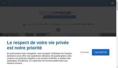 Site internet de Francepargne