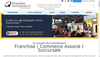 Site internet de France Progression Reseau