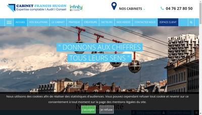 Site internet de Cabinet Francis Hugon