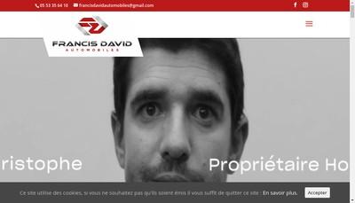 Site internet de Alliance Andres Automobiles