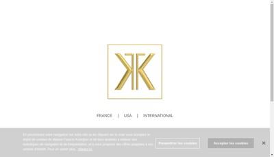 Site internet de Parfum Francis Kurkdjian