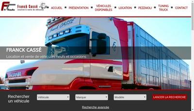 Site internet de Franck Casse