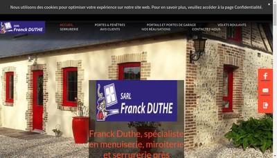 Site internet de Entreprise Franck Duthe