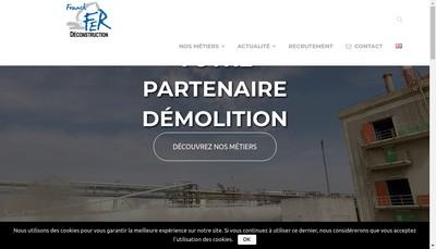 Site internet de Franck Fer
