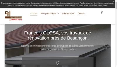 Site internet de Francois Glosa