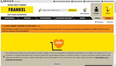 Site internet de Frankel