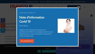 Site internet de Franssur