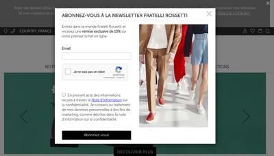 Site internet de Societe Rossetti