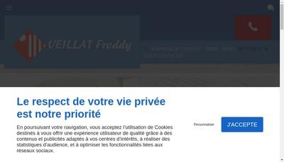 Site internet de Freddy Veillat