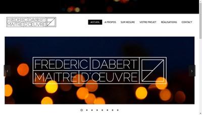 Site internet de Frederic Dabert - Maitre d'Oeuvre